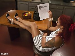 Daisy Ducati has come home from a long day at work to find that she has one more item on her
