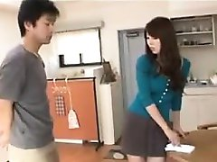 Beautiful Japanese Housewife Having Sex