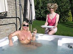 Hot Tub Hot Bum
