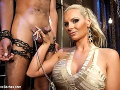 What more could you ask for? Phoenix FUCKING Marie whipping, strap-on fucking and using slaveboy\'s cock for her pleasure. Who wouldn\'t want this devastatingly gorgeous woman to take charge and treat you like the piece of meat you are?!?!?!?!?