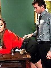 The stunningly beautiful and sexually explosive Dani Daniels does her roughest and most hardcore...