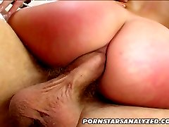 Dick loving pornstar Ashley Blue has hot oral and anal sex