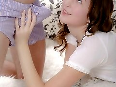Sweet and sexy teenie gets her anal hole drilled properly