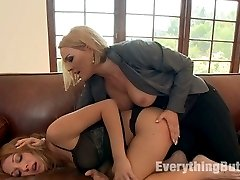 Krissy Lynn gets pissed off and goes to town on Amy Brooke for fucking her husband at her home....