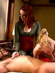 Miss Adams dominates Rico the pain slut and Sarah the fuck slut in this very hot MIP update....