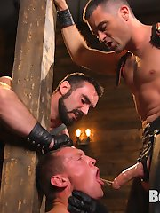 Training day is upon us here at Bound Gods and not only do we have a new muscle sub, Pierce...