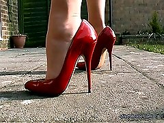 Listen in to Mels private conversation with her toyboy who has a sexy fetish for ladies shoes....