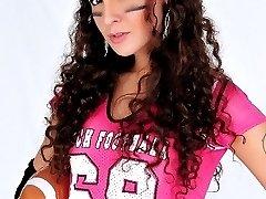 Horny Football tgirl Nikki