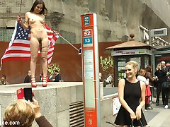 Juliette March is an embarrassment to the USA. This slutty loser tourist with her pathetic...