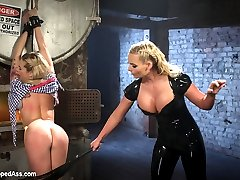 Bailey Blue and Phoenix Marie return to Whipped Ass! Phoenix is pissed that the new starlet...