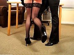 Corporal punishment for the secretary