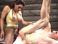 Artemis Faux gets whipped into shape by Mistress Jessy Dubai. Jessy gets off on champion fucking...
