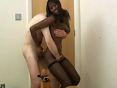 Amateur black teen