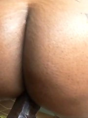 Ebony Babe Cherokee Gets Fucked By Lexs Monster Cock