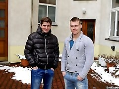 OutInPublic brings to you another awesome update of two men fucking. This time, it takes place somewhere in Europe in the Projects. Drago and Tonny give no fucks. They want to fuck and that's all that matters.