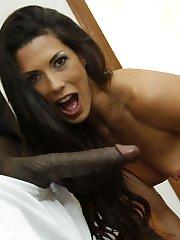 Black Cock Slut, Alexa Tomas gets Hammered at Blacks On Blondes!