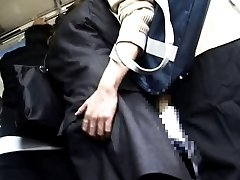 Japanese AV Model is touched on behind and PublicSexJapan.com