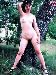 Nice naturist couple at the nudist camp