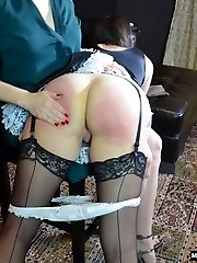 Snow Slaps Her Maid for Stealing