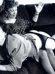 Brutal Vintage Spanking
