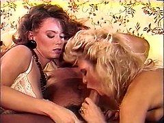 Amber Lynn, Tracey Adams, Herschel Savage in vintage sex clip
