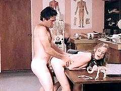 Natural beauty of sexy girl shines in retro porn
