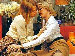 Two blonde seventies ladies