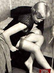 Vintage babes with panties