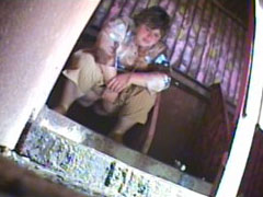 Three chicks get filmed weeing in spycammed toilet