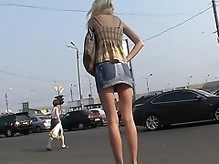 Nice acquaintance with amateur up skirts