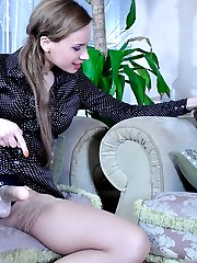 Angry girl eagerly puts to use her whoring boyfriend�s strapon toy and lube