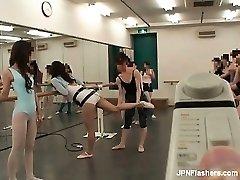 Aux cheveux noirs Asiatique salope de la danse part5