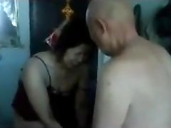 Fucking a Chinese Granny