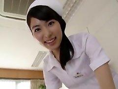 Kana Yume i Obscena Sjuksköterska Kommer att Blåsa Dig