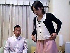 Tomomi Shimazaki Knullade framför Make (Ocensurerad)