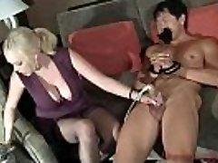 Katie Kox Huge orbs  - Trouser Snake Masturbator Machine