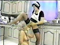 Grandma fisted by her Maid...F70