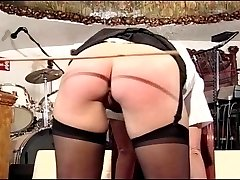 Housewife gets spanked hard