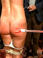 For the true BDSM enthusiast. Wenona is here for your pleasure: floggers, triple nipple clamps, inverted suspension bondage, face fucking, ass-pounding and her FIRST DP ON CAMERA. This experienced submissive is willing to go to any length for the honor of the Princess's pussy in her face.