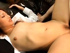 Rola Aoyama Asian with bee stings and erect AnalNippon.com