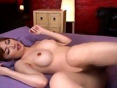 Tsubasa Amami Asian licks two tools and is JpShavers.com
