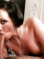 Big Ass Slut Gets Oiled And Fucked