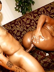 Skyy is one big beautiful black woman, and working with her is