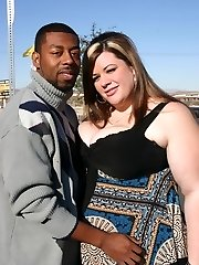 Luxurious plumper Deserie shows off her excellent wood pleasing abilities to satisfy a black guy