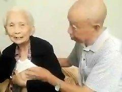 Japanese Elderly Couple