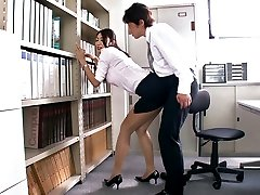 Getting Super-naughty In The Office