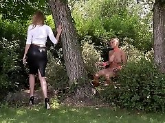 Mistress Danielle Maye ravages her Enslaved before Ass Fuc