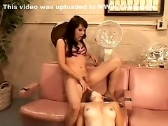 Amazing pornstars Gwen Summers, Marina Maywood and Roma in incredible brown-haired, hefty tits sex clip