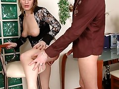 Lustful chick going for hot arse boning exercises with her hung neighbor