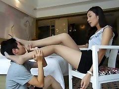 very hot asian pantyhose foot worship